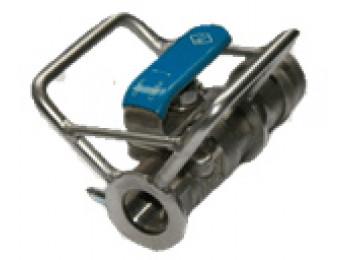 Кран с металлической защитой